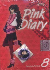 Pink Diary T8, manga chez Delcourt de Jenny