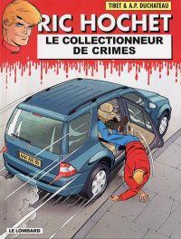 Ric Hochet T68 : Le collectionneur de crimes (0), bd chez Le Lombard de Duchateau, Brichau, Tibet, Brichau