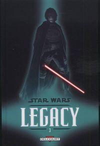 Star Wars Legacy – Saison 1 - 1ère version, T3 : Les griffes du dragon (0), comics chez Delcourt de Ostrander, Duursema, Anderson