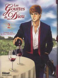 Les gouttes de Dieu T2, manga chez Glénat de Agi, Okimoto