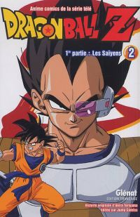 Dragon Ball Z – cycle 1 : Les Saïyens, T2, manga chez Glénat de Toriyama, Bird studio