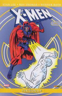 X-Men - L'intégrale T3 : 1966 (0), comics chez Panini Comics de Lee, Thomas, Roth, Kirby, Stein
