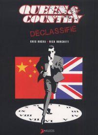 Queen & country – Déclassifié, T2, comics chez Akileos de Rucka, Burchett