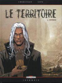 Le territoire T2 : Hypnose (0), bd chez Delcourt de Corbeyran, Espé, Hubert