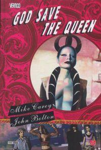 God Save The Queen, comics chez Panini Comics de Carey, Bolton