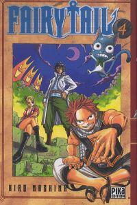 Fairy Tail T4, manga chez Pika de Mashima