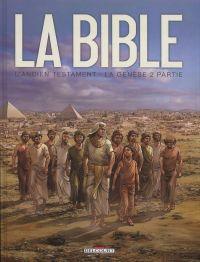 La Bible – cycle L'ancien testament, T2 : La Genèse (0), bd chez Delcourt de Dufranne, Camus, Zitko, Davidenko