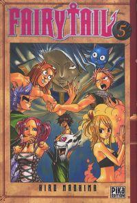 Fairy Tail T5, manga chez Pika de Mashima
