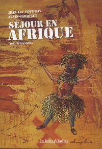 Séjour en Afrique, bd chez La boîte à bulles de Coudray, Garrigue