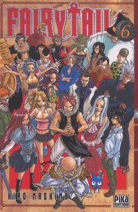 Fairy Tail T6, manga chez Pika de Mashima