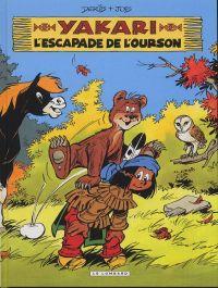 Yakari T35 : L'escapade de l'ourson (0), bd chez Le Lombard de Job, Derib, Dominique