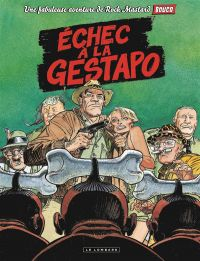 Rock Mastard T1 : Echec à la Gestapo (0), bd chez Le Lombard de Belkrouf, Boucq