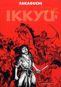 Ikkyu T4, manga chez Vents d'Ouest de Sakaguchi