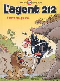 L'agent 212 T27 : Fauve qui peut ! (0), bd chez Dupuis de Cauvin, Kox