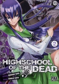 Highschool of the dead T2, manga chez Pika de Sato, Sato