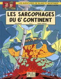 Blake & Mortimer T17 : Les sarcophages du 6e continent, tome 2 (0), bd chez Blake et Mortimer de Sente, Juillard, Demille