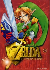 The legend of Zelda - Ocarina of time – 1e édition, T2, manga chez Soleil de Himekawa