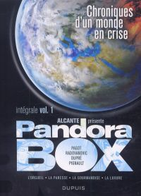 Pandora Box T1, bd chez Dupuis de Alcante, Radovanovic, Dupré, Pignault, Pagot, Usagi, Araldi