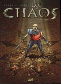 La loi du chaos T1 : Elfes noirs (0), bd chez Soleil de Falba, Tasiaux, Penloup