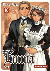 Emma T10, manga chez Kurokawa de Mori