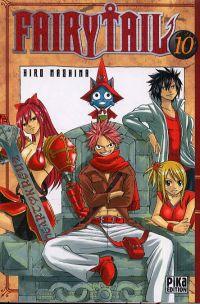 Fairy Tail T10, manga chez Pika de Mashima