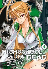 Highschool of the dead T4, manga chez Pika de Sato, Sato