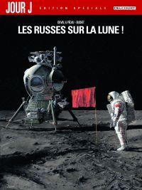 Jour J T1 : Edition spéciale - Les Russes sur la Lune ! (0), bd chez Delcourt de Pécau, Duval, Buchet, Walter