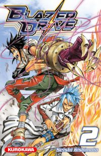 Blazer drive T2, manga chez Kurokawa de Kishimoto
