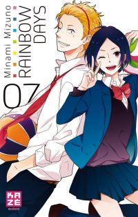 Rainbow days  T7, manga chez Kazé manga de Mizuno