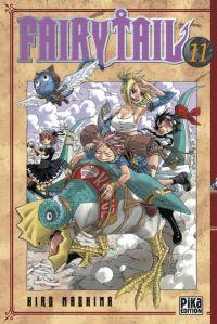 Fairy Tail T11, manga chez Pika de Mashima