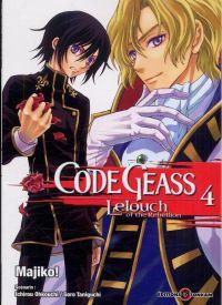 Code Geass - Lelouch of the Rebellion  T4, manga chez Tonkam de Taniguchi, Ohkouchi, Majiko !