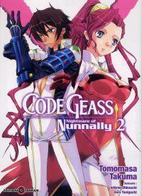 Code Geass - Nightmare of Nunnally T2, manga chez Tonkam de Taniguchi, Ohkouchi, Tomomasa