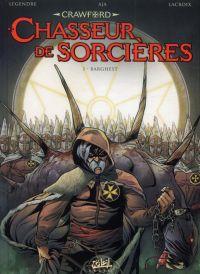 Crawford, chasseur de sorcières T1 : Barghest (0), bd chez Soleil de Legendre, Aja, Lacroix