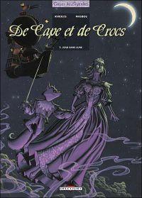 De cape et de crocs T5 : Jean Sans Lune (0), bd chez Delcourt de Ayroles, Masbou