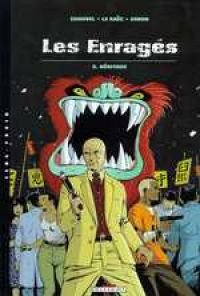 Les enragés T5 : Héritage (0), bd chez Delcourt de Chauvel, Le Saëc, Simon
