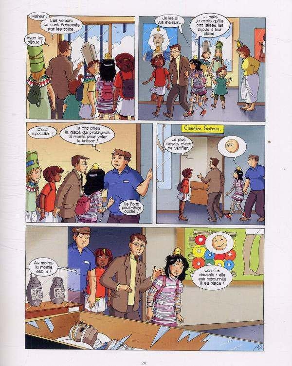 Cédille T3 : Mystère au musée (0), bd chez Le Lombard de Cantin, Cécile, Scomazzon