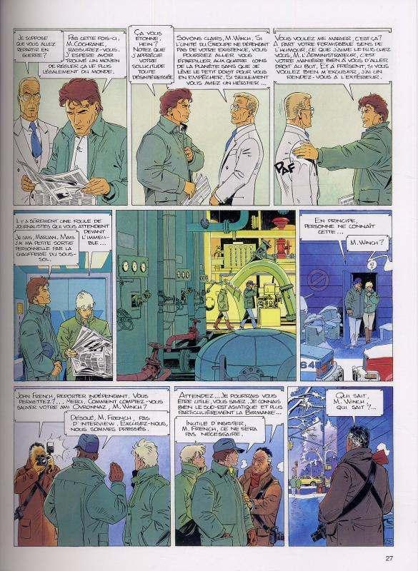 Largo Winch T4 : Tomes 7 & 8 (0), bd chez Dupuis de Van Hamme, Francq
