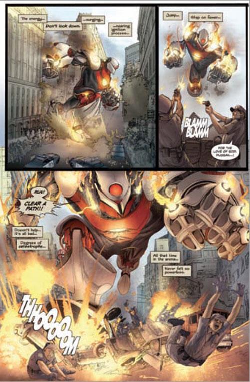 Gigantic, comics chez Akileos de Remender, Nguyen, Wilson