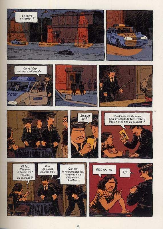 London calling T3 : Le grand soir (0), bd chez Futuropolis de Runberg, Phicil, Drac