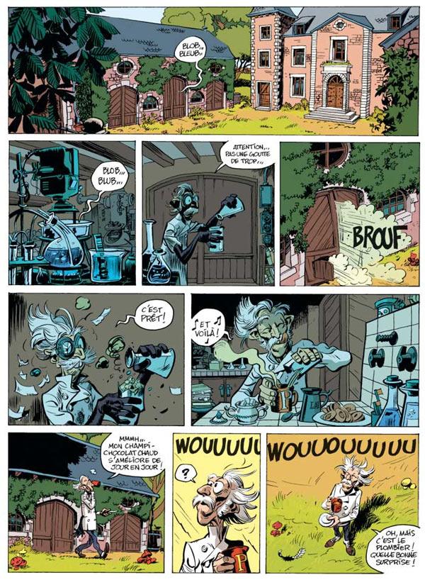 Spirou et Fantasio T51 : Alerte aux zorkons (0), bd chez Dupuis de Vehlmann, Blanchard, Yoann, Hubert
