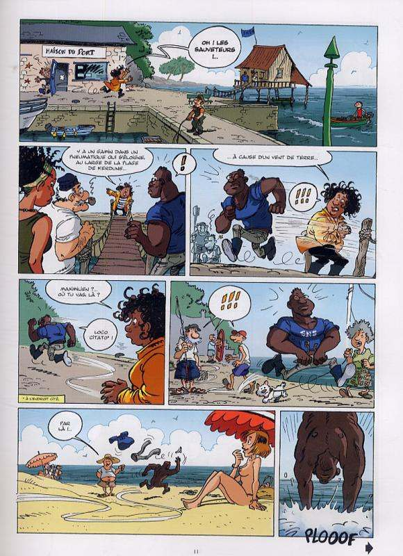 Les sauveteurs en mer T1 : Alerte à Pen Dru (0), bd chez Vents d'Ouest de Cousseau, Cuvillier, Cosson