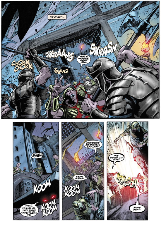 Kull T1 : Le royaume des chimères (0), comics chez Panini Comics de Nelson, Conrad, Villarubia, Renaud