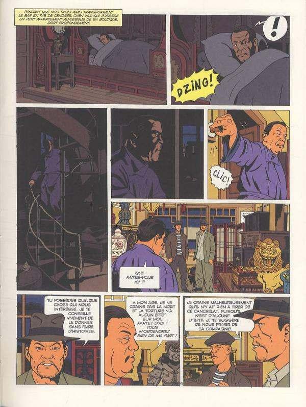 Les aventures de Jack Bishop T1 : Le temple de l'épouvante (0), bd chez Desinge&Hugo&Cie de Chapelle, Chanoinat, Marniquet