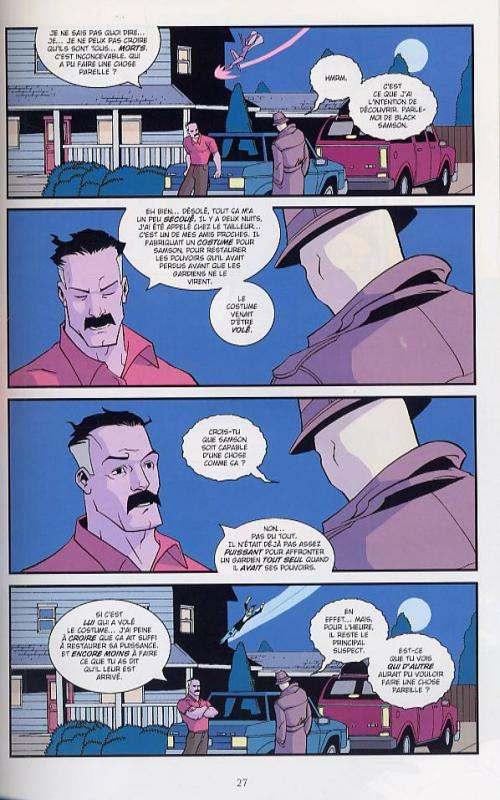 Invincible T2 : Au nom du père (0), comics chez Delcourt de Kirkman, Walker, Ottley, Crabtree