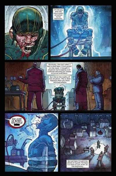 Kick-Ass – cycle 1, T2 : Brume rouge (0), comics chez Panini Comics de Millar, Romita Jr, White