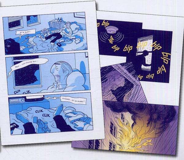Asterios Polyp, comics chez Casterman de Mazzucchelli