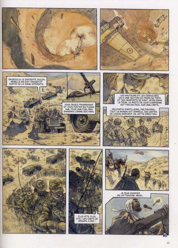 20 ans de guerre, bd chez Le Lombard de Loiselet, Blary
