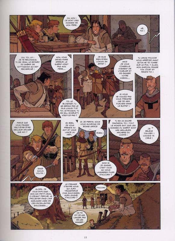 Robin T2 : Outlaws (0), bd chez 12 bis de Boisserie, Héloret, Galopin
