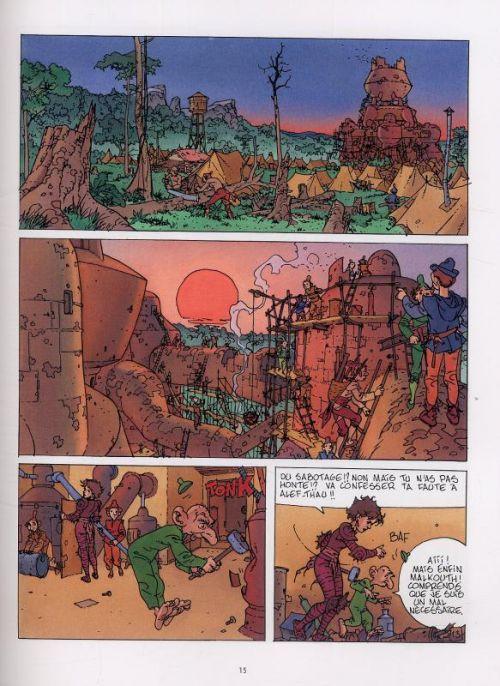 Alef Thau T7 : La porte de la vérité (0), bd chez Delcourt de Jodorowsky, Arno, Breton