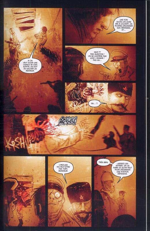 30 jours de nuit T5 : Neige écarlate (0), comics chez Delcourt de Templesmith